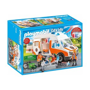 Playmobil City Life: Ασθενοφόρο με Διασώστες (εως 36 δόσεις)