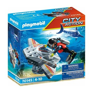 Playmobil City Action: Diving Scooter in Rescue (εως 36 δόσεις)