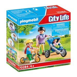 Playmobil City Life: Mother with Children Playmobil City Life: Mother with Children (εως 36 δόσεις)