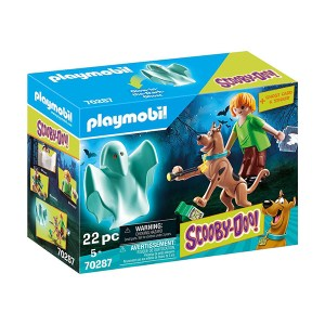 Playmobil Scooby-Doo: Scooby and Shaggy with Ghost (εως 36 δόσεις)
