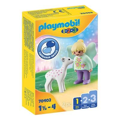 Playmobil 123: Fairy Friend with Fawn (εως 36 δόσεις)