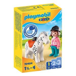 Playmobil 123: Rider with Horse (εως 36 δόσεις)