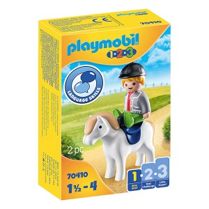 Playmobil 123: Boy with Pony (εως 36 δόσεις)