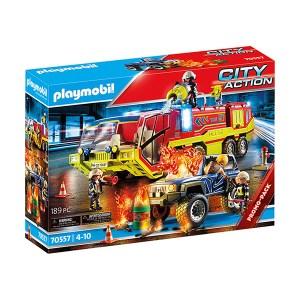 Playmobil City Action: Πυροσβεστική Υπηρεσία με Όχημα (εως 36 δόσεις)