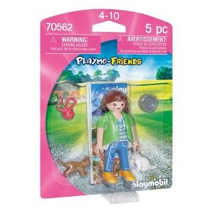 Playmobil Playmo-Friends: Γυναίκα Με Γατούλες (εως 36 δόσεις)