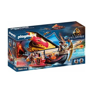 Playmobil Novel More: Πλοίο της Φωτιάς του Burnham (εως 36 δόσεις)