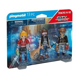Playmobil City Action: Ομάδα Ληστών (εως 36 δόσεις)