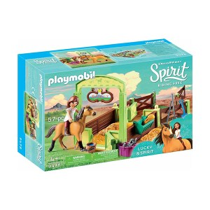 Playmobil Spirit Riding Free: Horse Box Lucky & Spirit (εως 36 δόσεις)