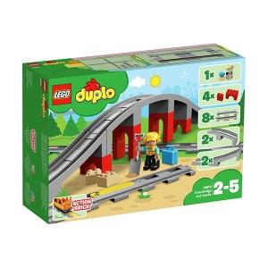 Lego Duplo: Train Bridge and Tracks (εως 36 Δόσεις)