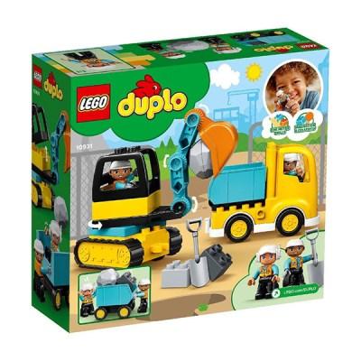 Lego Duplo: Truck & Tracked Excavator (εως 36 Δόσεις)