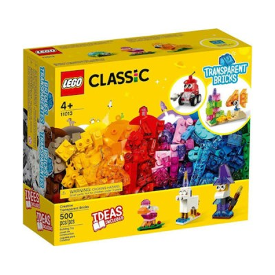 Lego Classic: Creative Transparent Bricks (εως 36 Δόσεις)