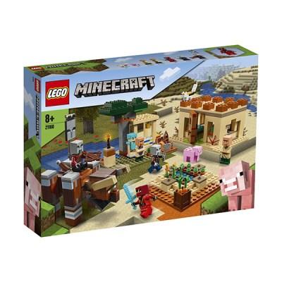 Lego Minecraft: The Illager Raid (εως 36 Δόσεις)