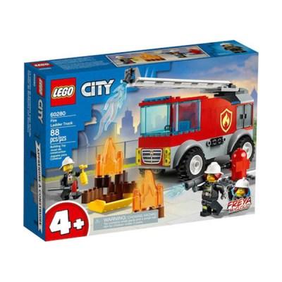 Lego City: Fire Ladder Truck (εως 36 Δόσεις)