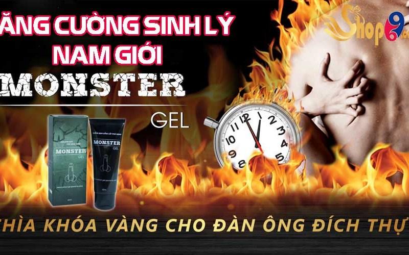 Monster gel phái mạnh – Chinh phục phụ nữ mọi thời đại
