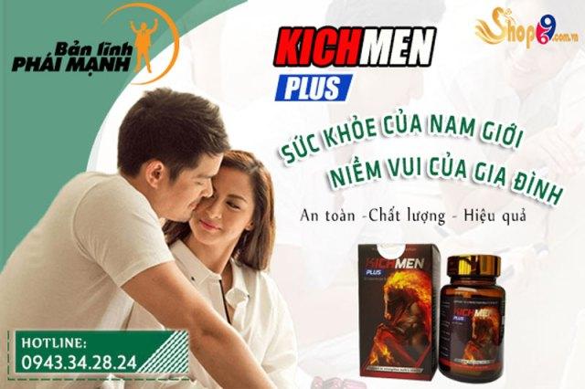 Kichmen plus có tác dụng trong bao lâu