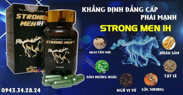 thành phần Strongmen 1H giá bao nhiêu