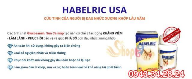 công dụng habelric, habelric có tác dụng gì