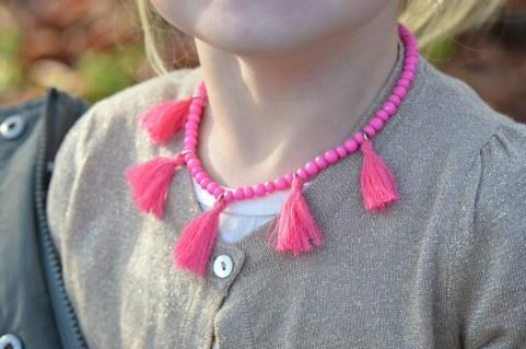 Nosah roze ketting
