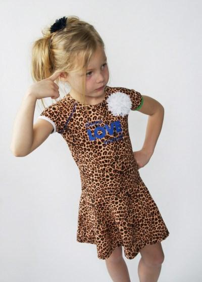 Waaaw panter jurk