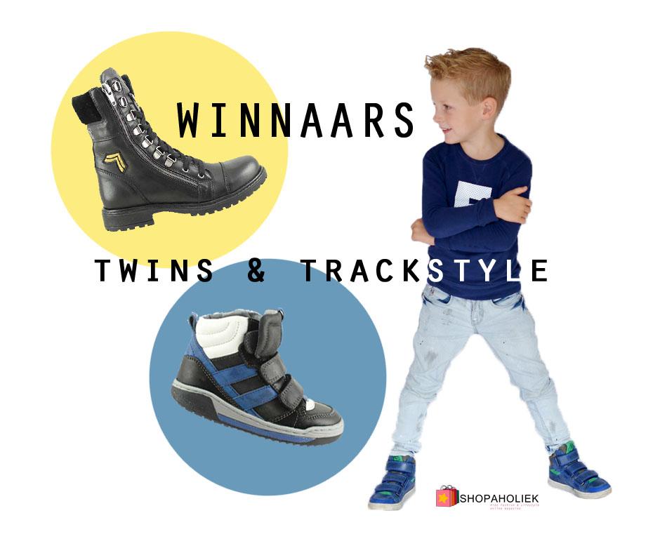 Twins Kinderschoenen.Wie Zijn De Gelukkige Winnaars Van Twins Trackstyle Schoenen