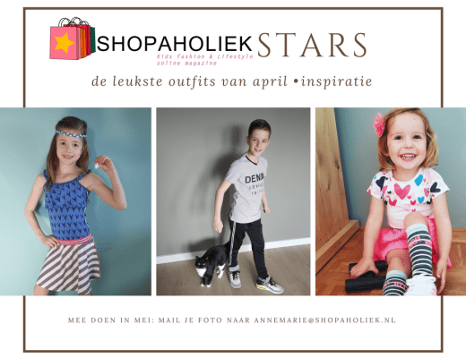 Shopaholiek Stars april
