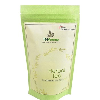 Green Tea Herbal Tea [tag]