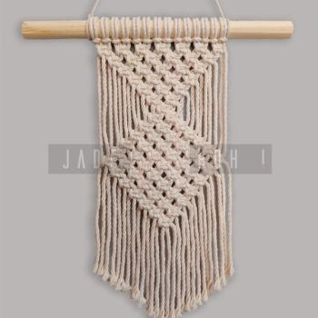 Macrame Handicraft Macrame Wall Hanging [tag]