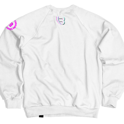 Benswic Apparel Sweatshirt White Crewneck