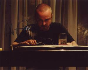 Aaron Paul In-person Autographed Photo