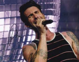Adam Levine In-person Autographed Photo
