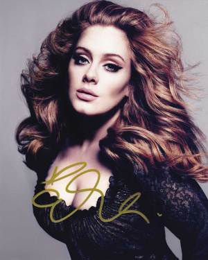 Adele In-person Autographed Photo
