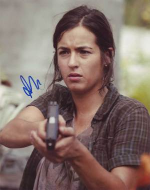 Alanna Masterson in-person autographed photo