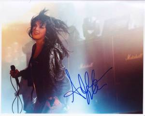 Alexis Krauss in-person autographed photo