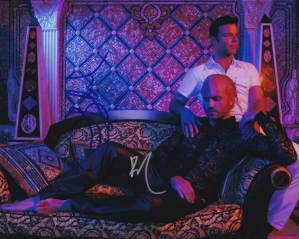 Assassination of Gianni Versace In-person autographed Cast Photo