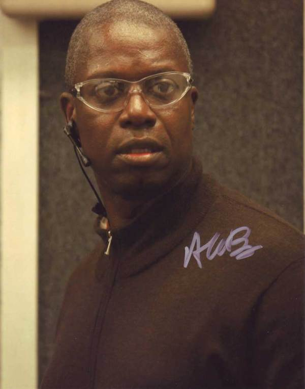 Andre Braugher in-person autographed photo
