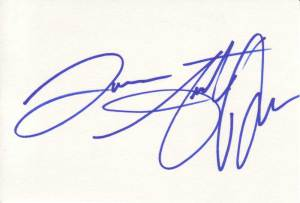 Andrew Keegan Autographed Index Card
