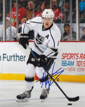 Anze Kopitar In-person Autographed Photo