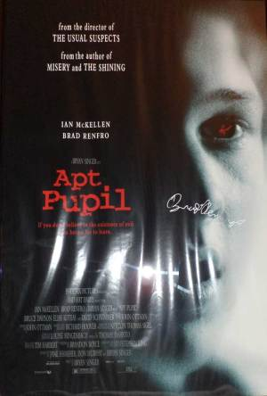 Apt. Pupil Brad Renfro in-person autographed Poster