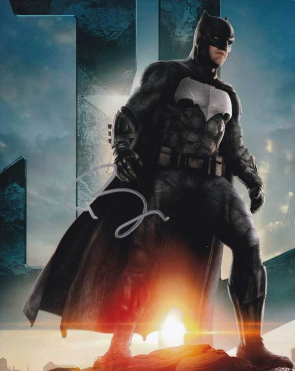 Ben Affleck in-person autographed photo Batman