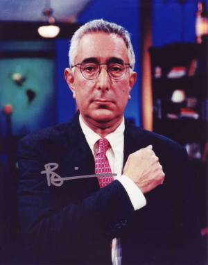 Ben Stein in-person autographed photo