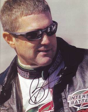 Bobby Labonte in-person autographed photo