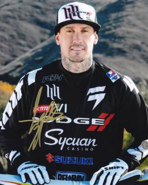 Carey Hart in-person autographed photo