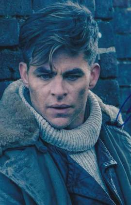 Chris Pine in-person autographed photo