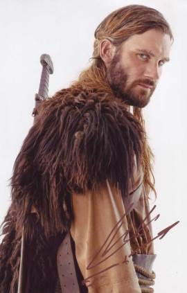Clive Standen in-person autographed photo