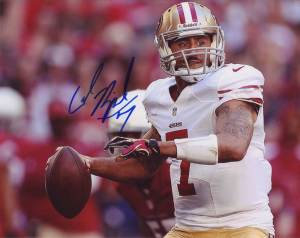 Colin Kaepernick in-person autographed photo