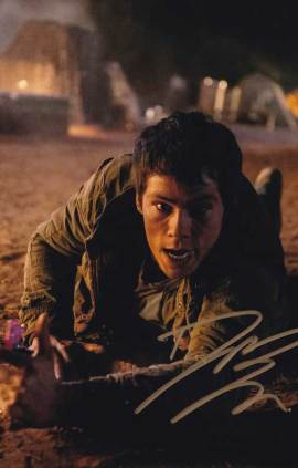 Dylan O'Brien In-person Autographed Photo