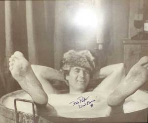 Fess Parker in-person autographed 16 x 20 Lithograph