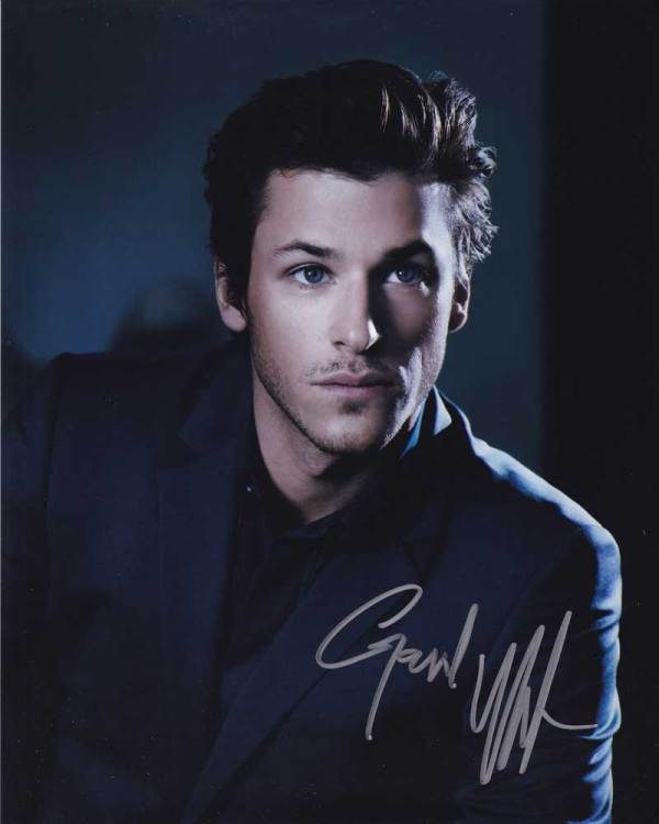 Gaspard Ulliel In-person Autographed Photo