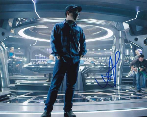 J.J. Abrams in-person autographed photo