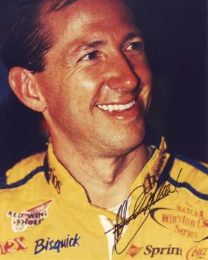 John Andretti in-person autographed photo